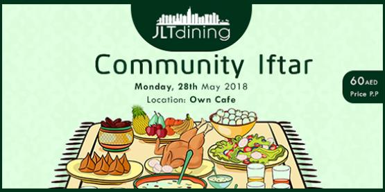 JLT Dining Community Iftar 2018