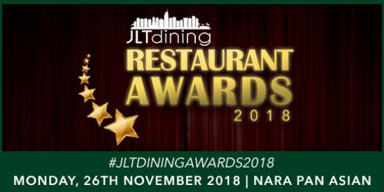 JLT Restaurant Awards 2018