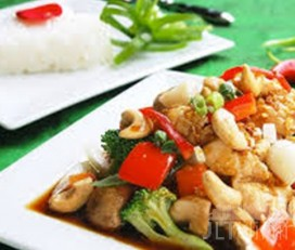 The Kitchen of Thai Restaurant